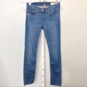 RAG & BONE Crop Capri Jeans Size 25
